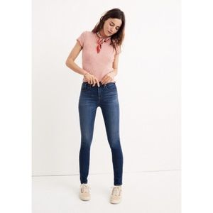 "Madewell 10"" High-Rise Skinny Jeans Tencel Edition"